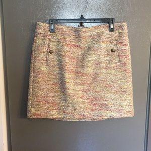 Ann Taylor Loft Tweed Skirt Size 10 NWT